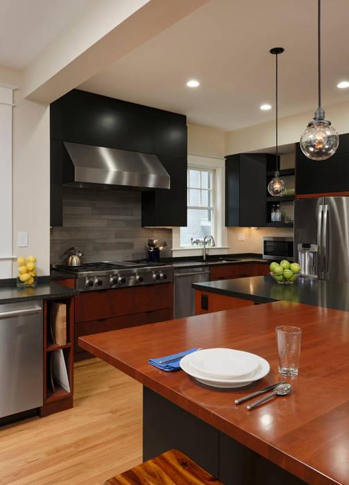 Cleveland Park DC Kosher Kitchen Renovation BOWA - Design Build Experts آشپزخانه