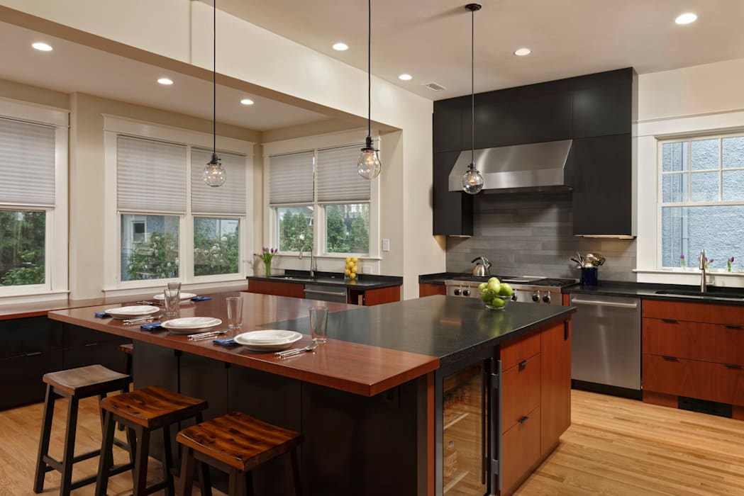 Cleveland Park DC Kosher Kitchen Renovation توسط BOWA - Design Build Experts مدرن