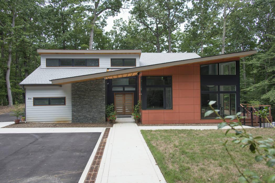 ARCHI-TEXTUAL, PLLC Rumah Modern