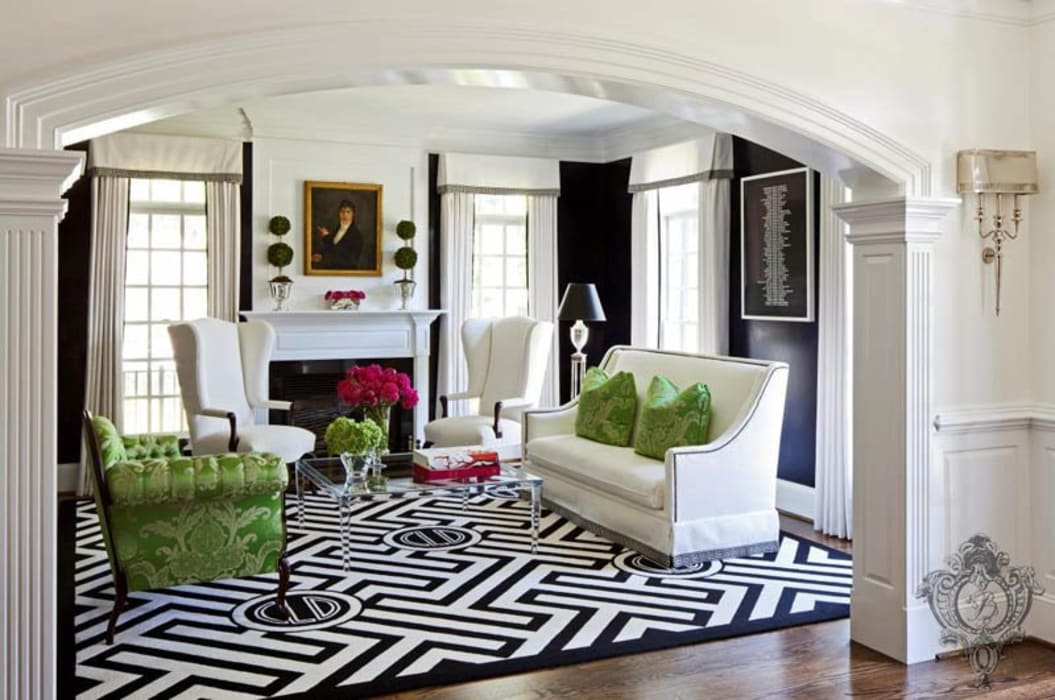 Living Room by Kellie Burke Interiors Eclectic