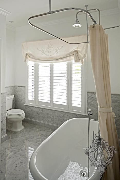 Bathroom Eclectic style bathroom by Kellie Burke Interiors Eclectic
