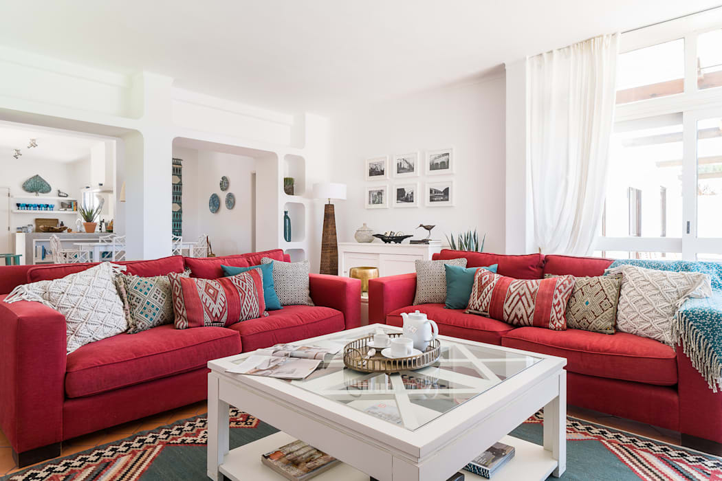 Soggiorno eclettico di the interiors online eclettico | homify
