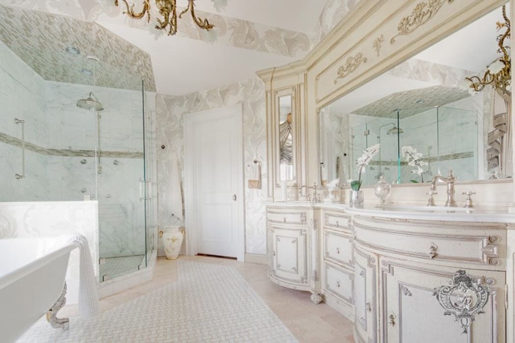 Master Bathroom Kellie Burke Interiors 浴室