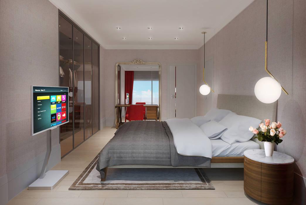 Alto Mimarlık  – Artemare Residence:  tarz Yatak Odası,