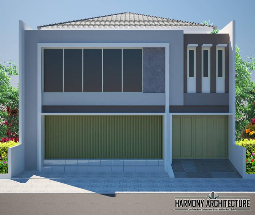 Ruko 2 Lantai: Pusat Perbelanjaan oleh Harmony Architecture,