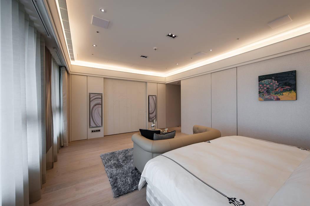 Modern style bedroom by 汎羽空間設計 Modern