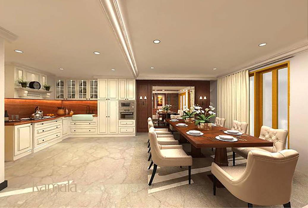 Private Residence @ Karawaci: Dapur oleh Kamala Interior, Klasik