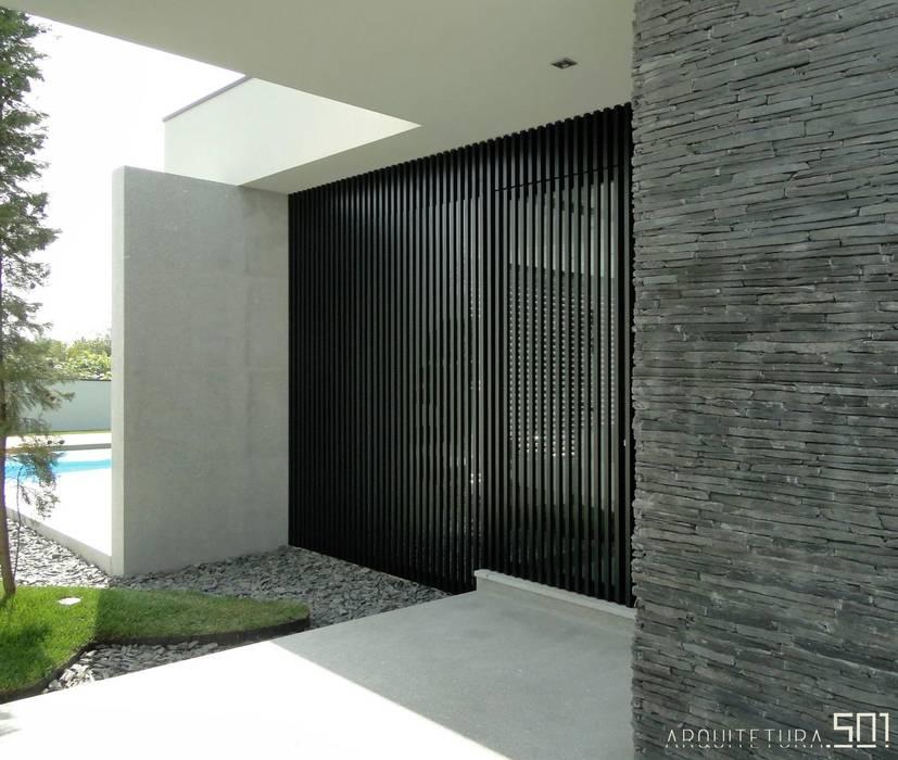 Pintu & Jendela Minimalis Oleh arquitetura.501 Minimalis Metal