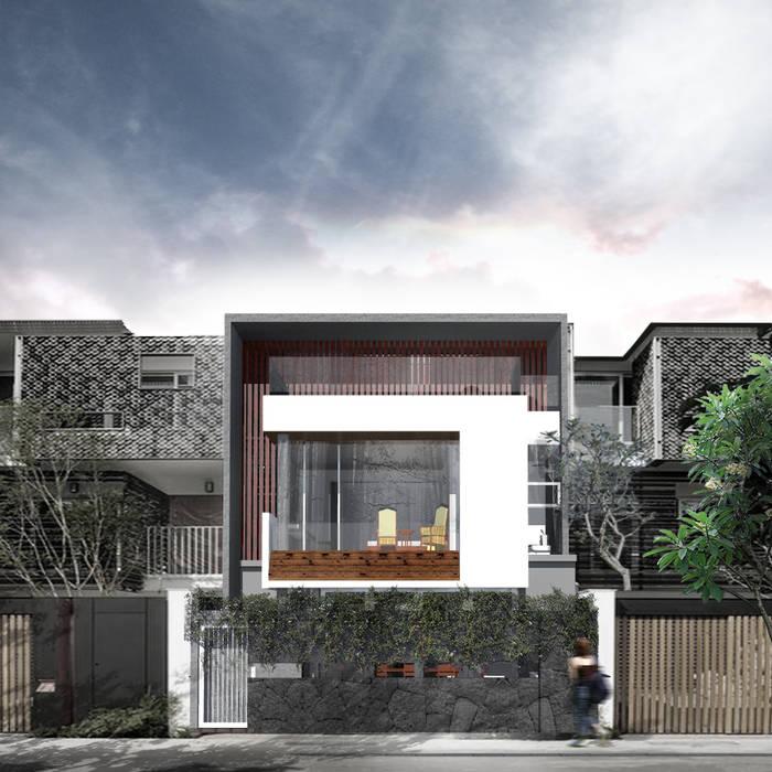 Projekty,  Domy zaprojektowane przez Atelier Ara
