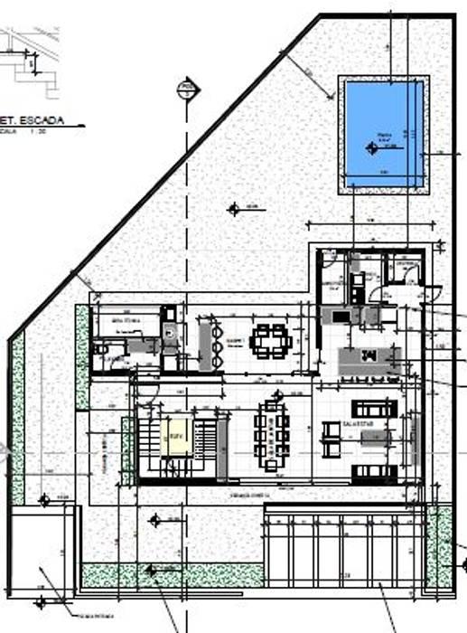 adnssouza arquitetura e interiores Casas de estilo moderno