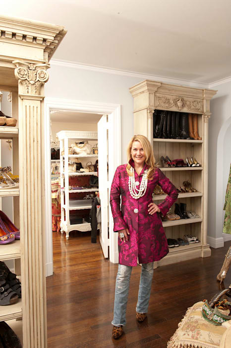 Walk In Closet Kellie Burke Interiors Classic style dressing room