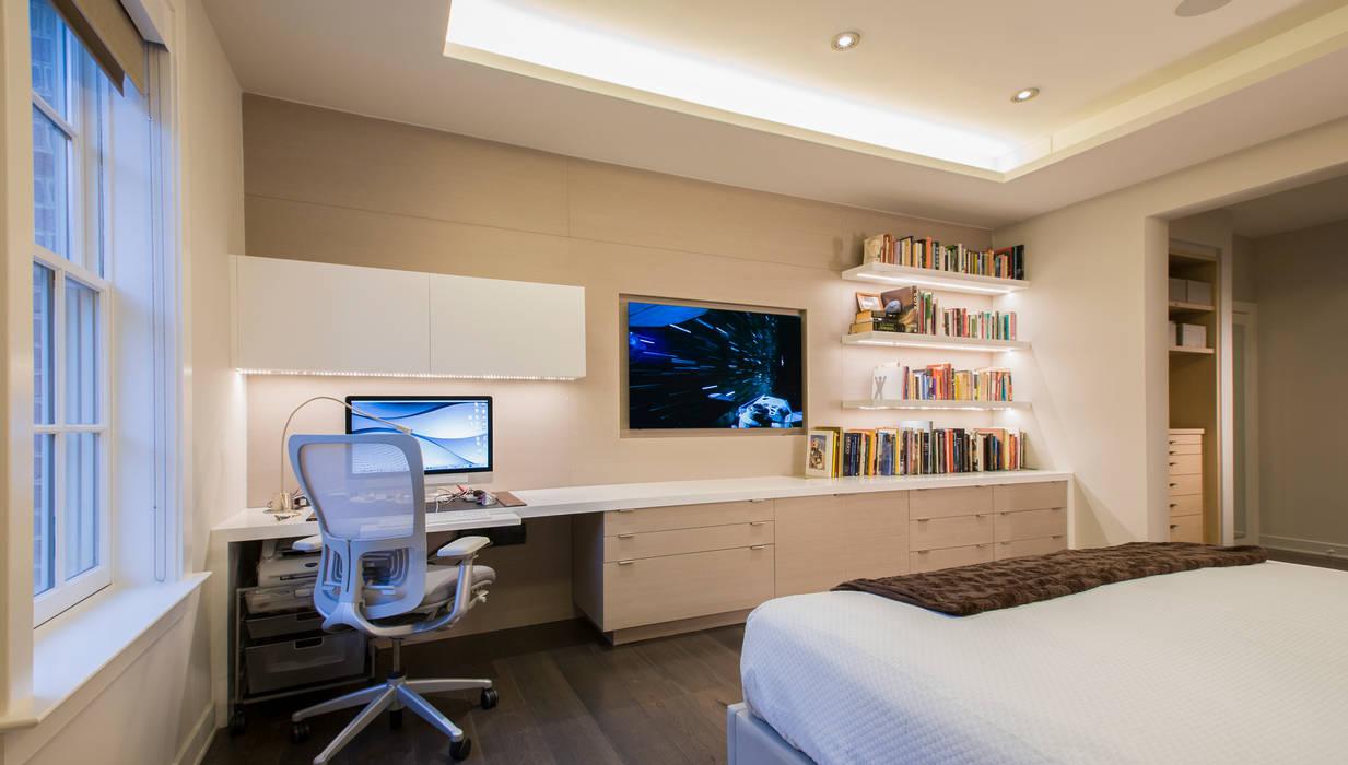 Camera da letto moderna di FORMA Design Inc. Moderno