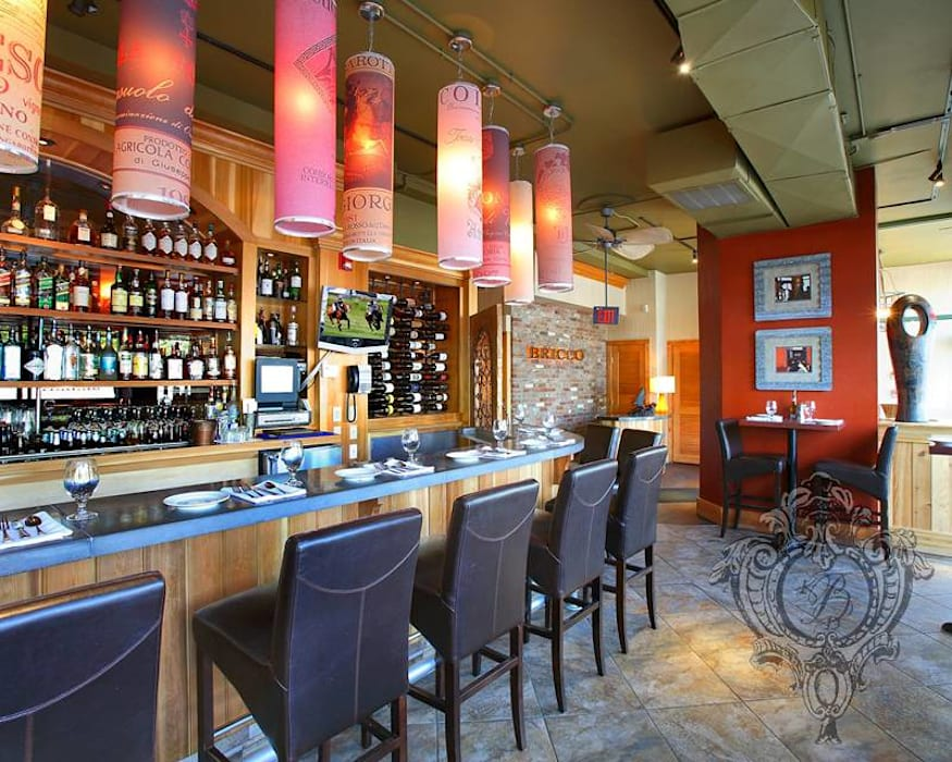 Restaurant Bar Kellie Burke Interiors Commercial Spaces