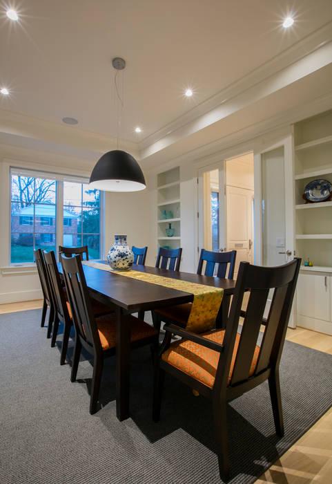 Salas de jantar modernas por FORMA Design Inc. Moderno
