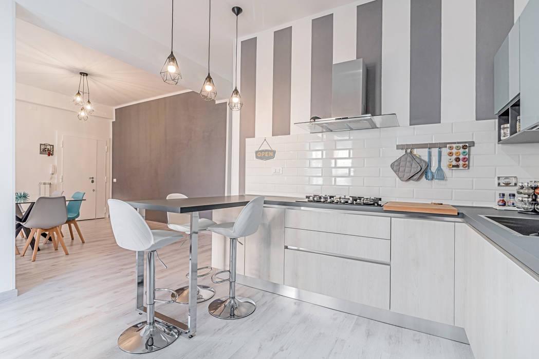 Ristrutturazione appartamento Roma, Tor Sapienza Facile Ristrutturare Cucina moderna