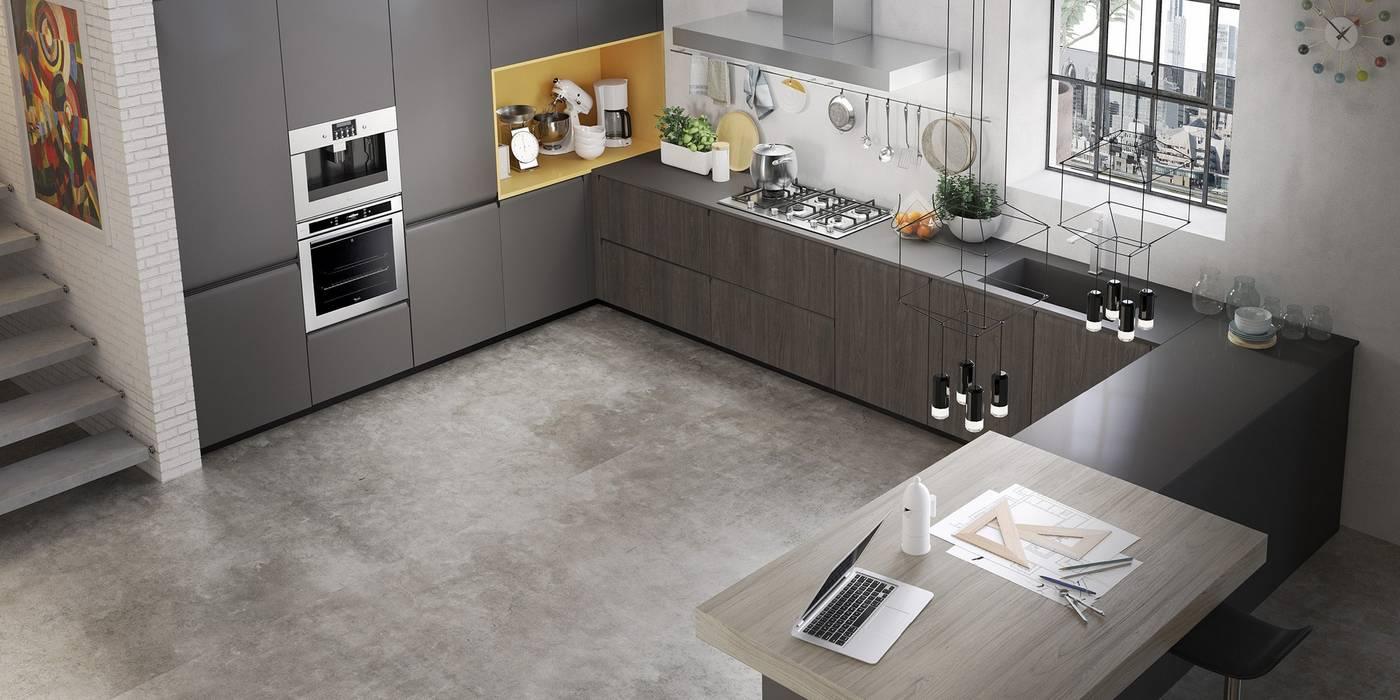 Abita design srl / Paolo Vindigni Modern Kitchen