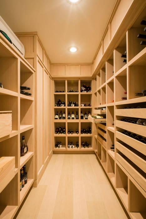 FORMA Design Inc. Ruang Penyimpanan Wine/Anggur Modern