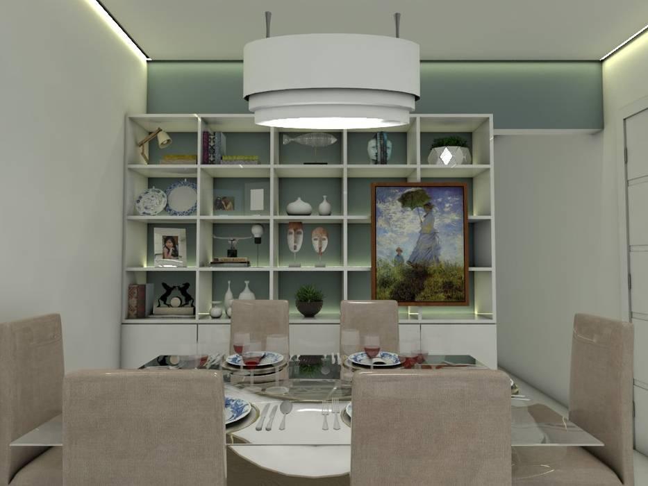 Ana Florêncio Ruang Makan Modern