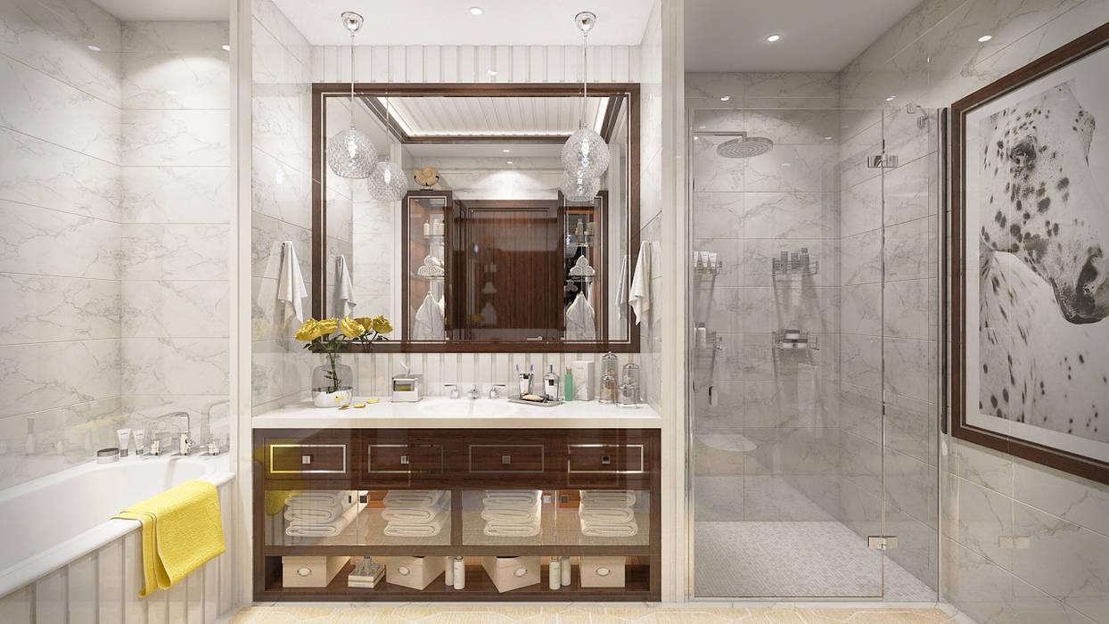 Modern Bathroom by Арт Реал Дизайн Modern