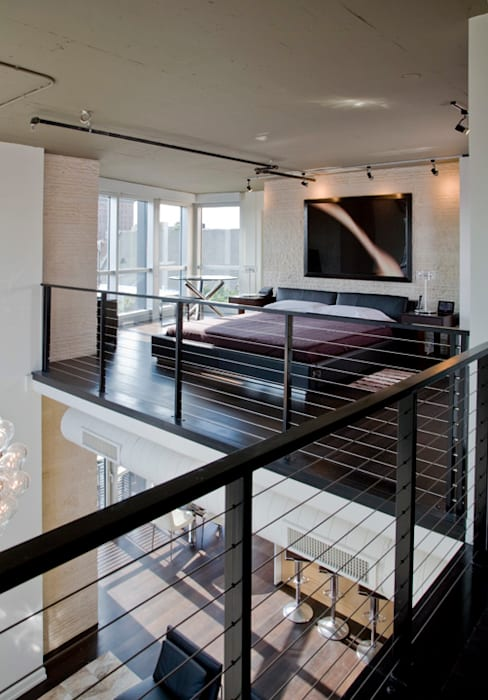 Penthouse at The Metropole Modern Bedroom by FORMA Design Inc. Modern