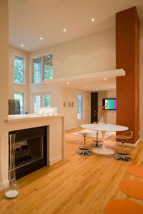 Modern style media rooms by FORMA Design Inc. Modern
