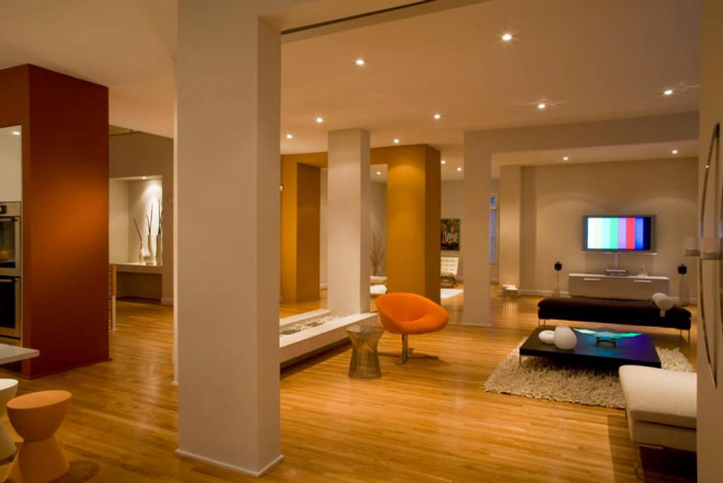 Modern Oturma Odası FORMA Design Inc. Modern