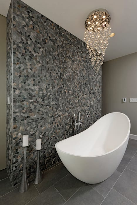 Master Suite and Master Bathroom Renovation in Great Falls, VA Modern Bathroom by BOWA - Design Build Experts Modern
