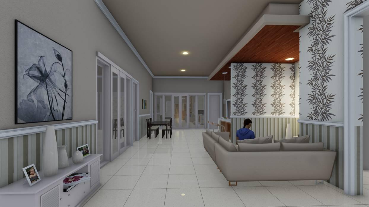 lantai:  Dinding by Ardha Design