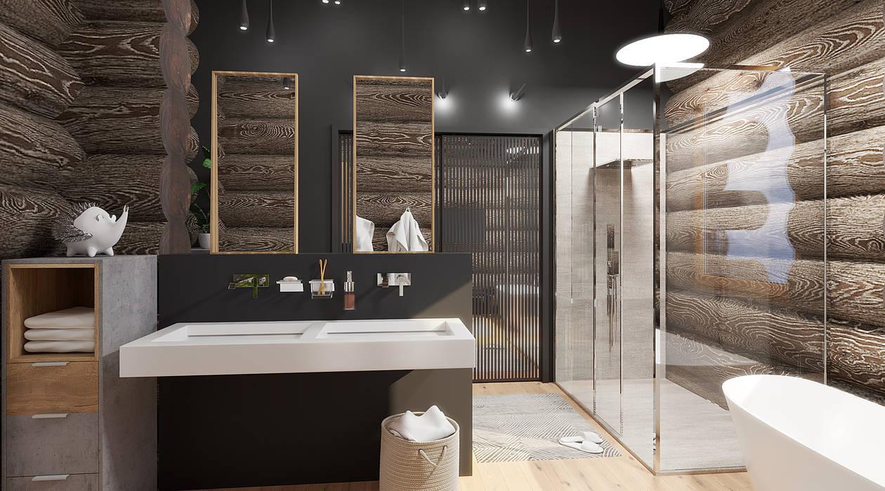 needsomespace Ванна кімната Скло Сірий
