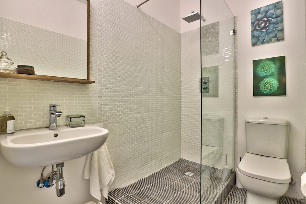 bathroom Industrial style bathroom by Studio Do Cabo Industrial