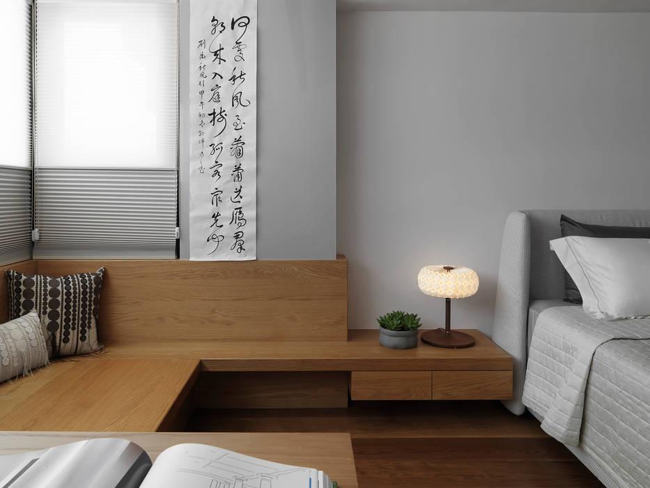 Schlafzimmer von 禾築國際設計Herzu  Interior Design