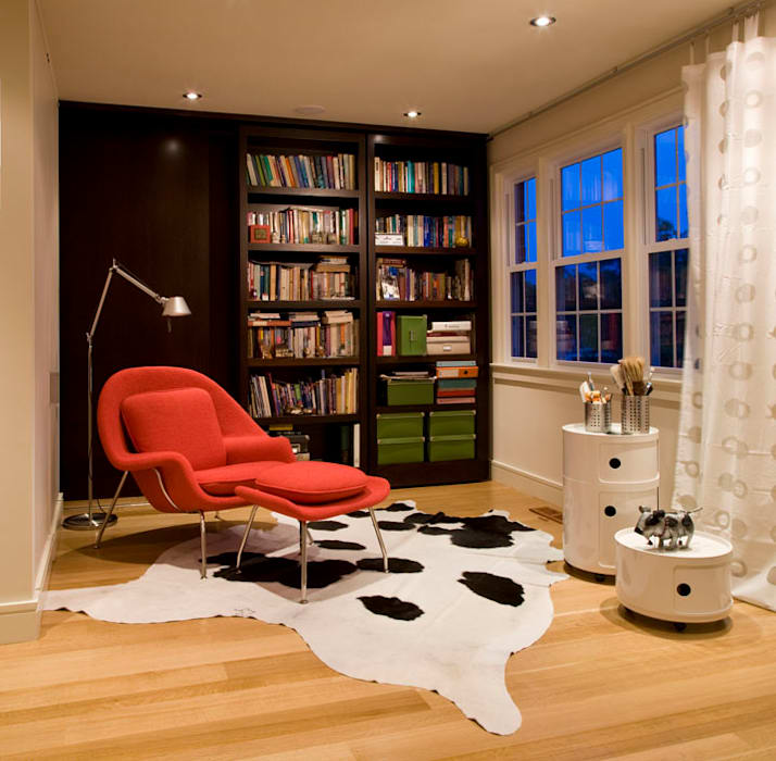 Ruang Studi/Kantor Modern Oleh FORMA Design Inc. Modern