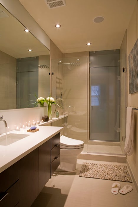 Zen Modern 2.0 FORMA Design Inc. Modern Bathroom