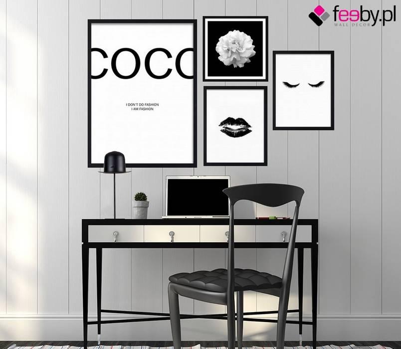 Plakaty W Stylu Coco Chanel Styl W Kategorii Sztuka