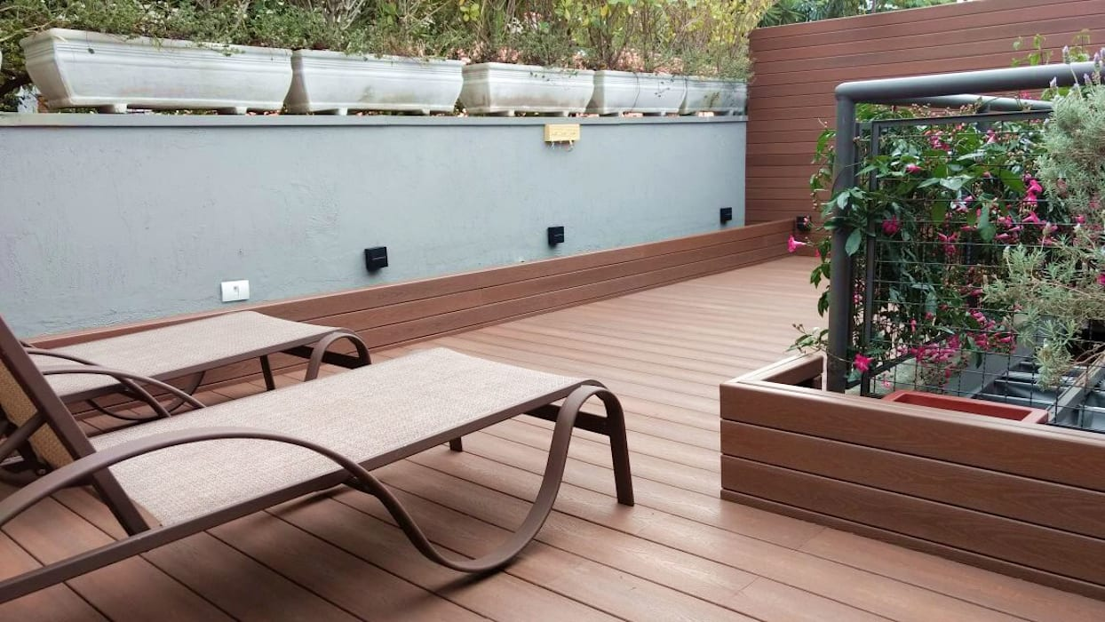 de Ecopex Rústico Compuestos de madera y plástico