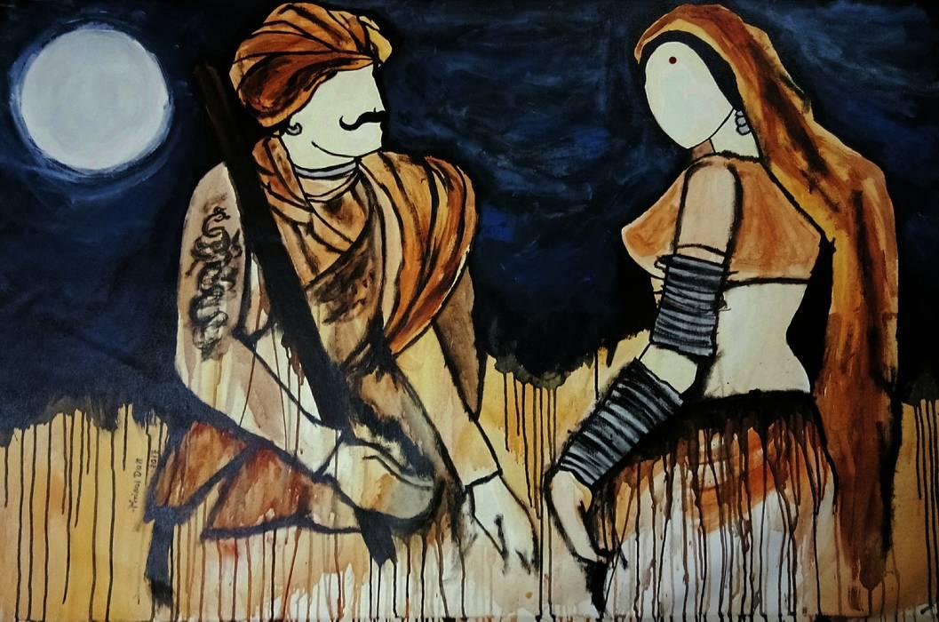 Milan:  Artwork by Indian Art Ideas,