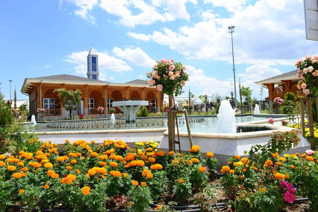 ÇİFTSAN BOTANİK VE AYDINLATMA Country style garden