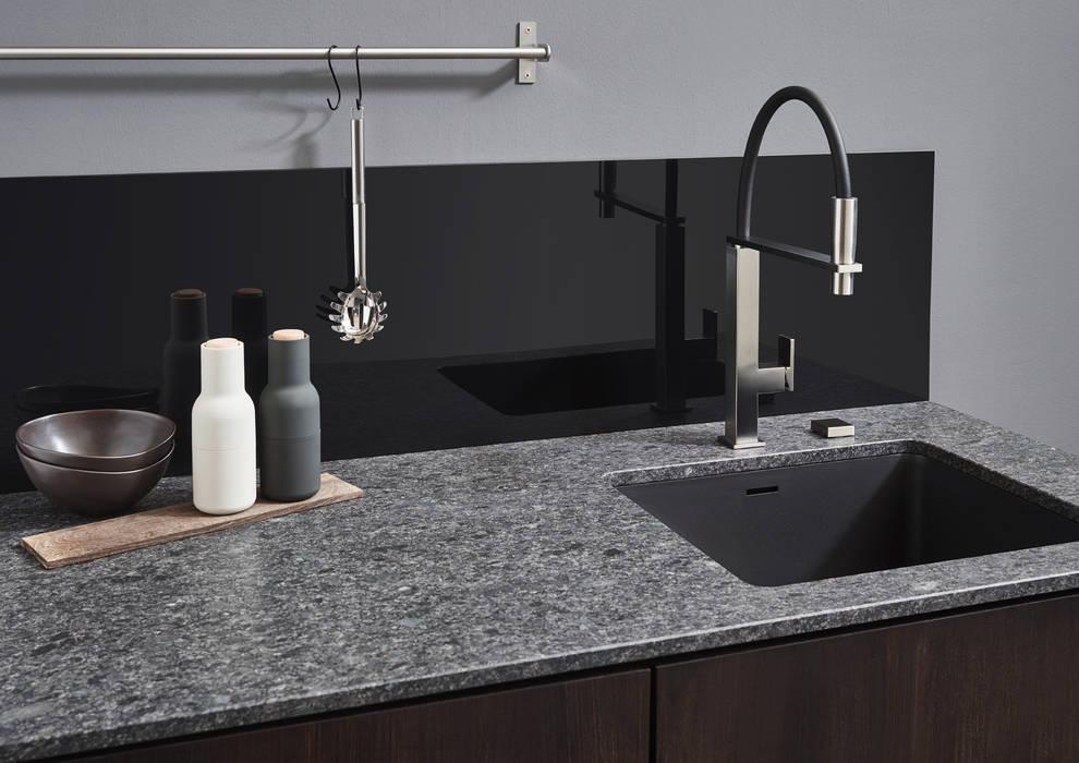 Naturstein arbeitsplatte im dekor 043 steel grey : küche von d ...