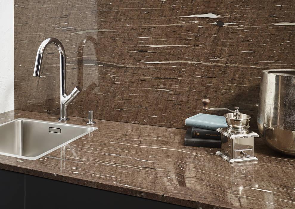 Naturstein arbeitsplatte im dekor 011 maroon silk: küche von d ...