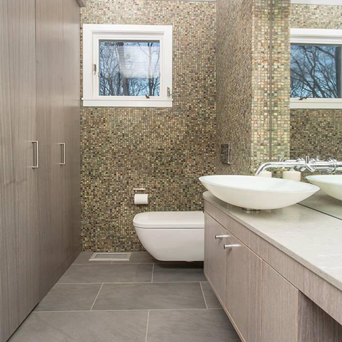 Nowoczesna łazienka od BILLINKOFF ARCHITECTURE PLLC Nowoczesny