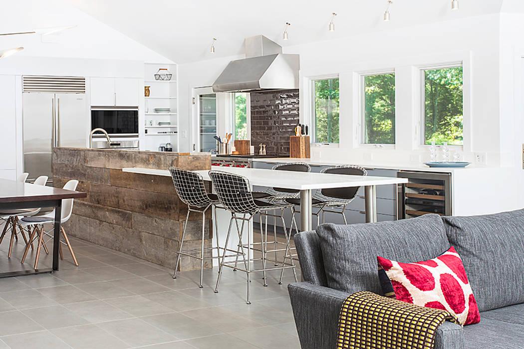 Cozinhas modernas por BILLINKOFF ARCHITECTURE PLLC Moderno