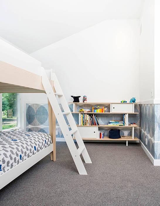 BILLINKOFF ARCHITECTURE PLLC Kamar Bayi/Anak Modern