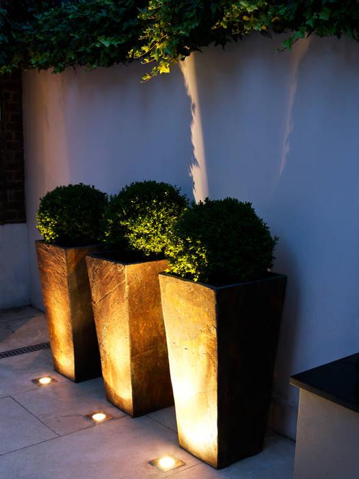 Slate planters: modern Garden by Earth Designs