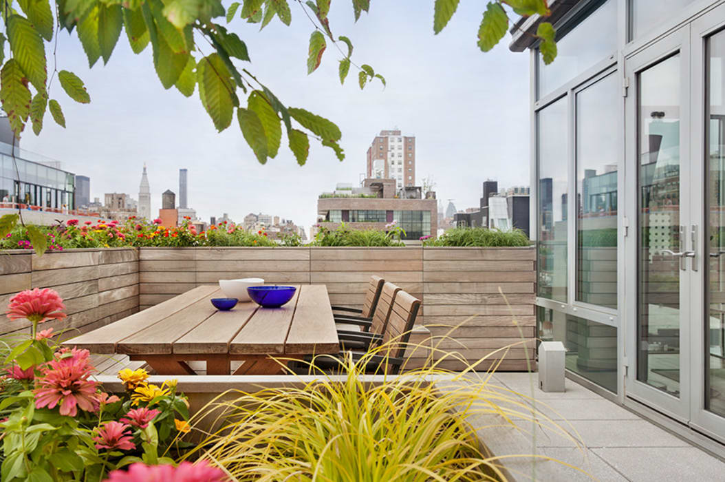 High Line Penthouse, New York, NY by BILLINKOFF ARCHITECTURE PLLC Minimalist