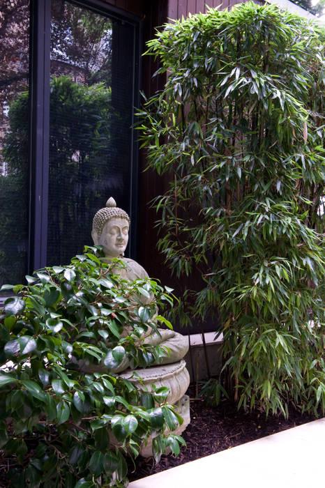 Buddha statue:  Garden by Earth Designs