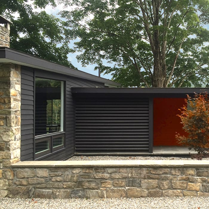 Macedonia Brook Road Midcentury, Kent, CT BILLINKOFF ARCHITECTURE PLLC Modern Houses