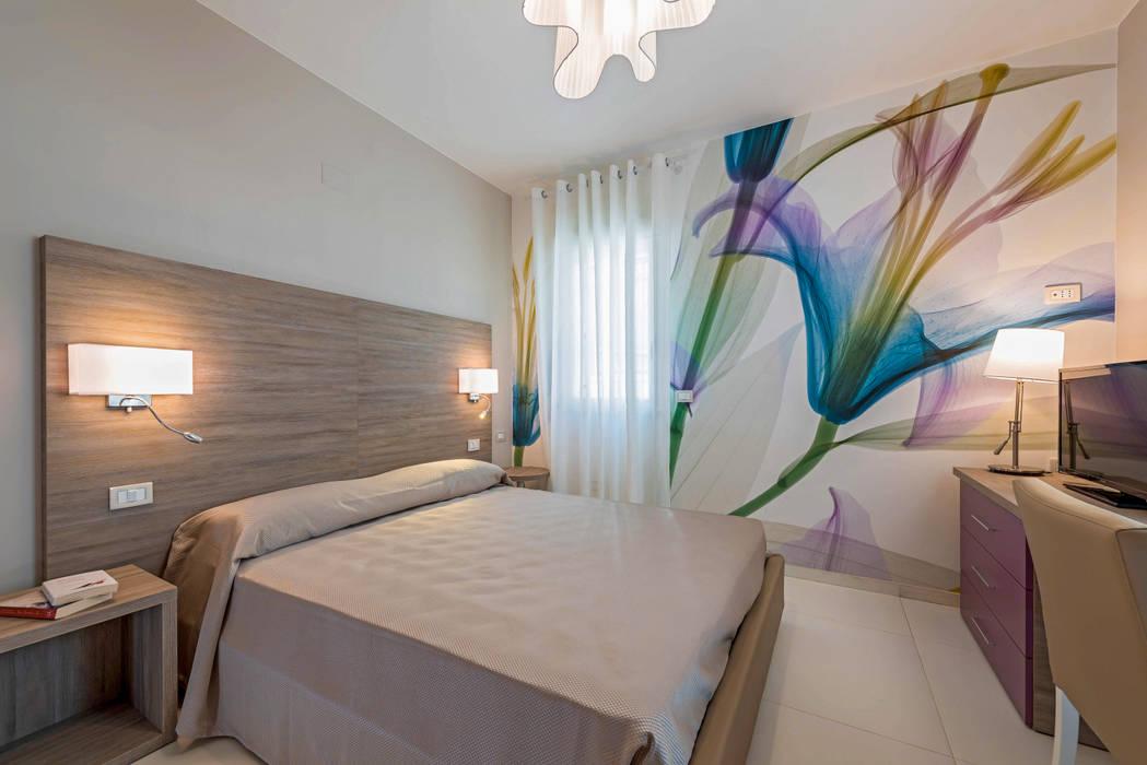 Akdeniz Yatak Odası Angelo De Leo Photographer Akdeniz İşlenmiş Ahşap Şeffaf