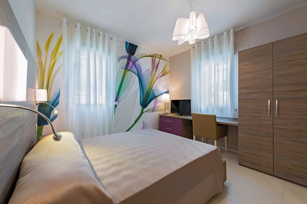 Mediterranean style bedroom by Angelo De Leo Photographer Mediterranean Wood Wood effect