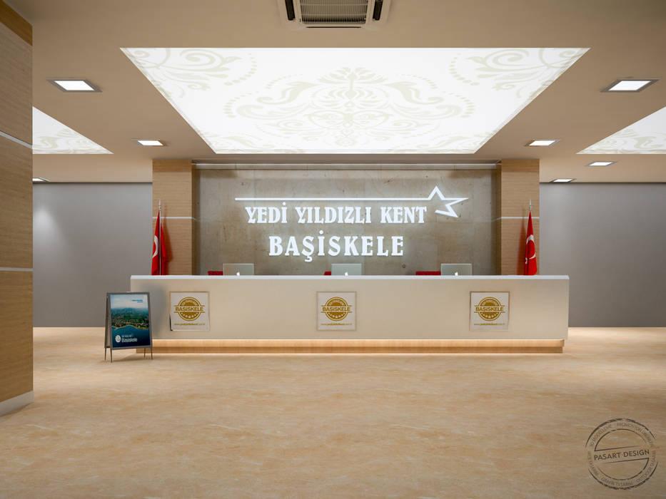 Коридор, прихожая и лестница в модерн стиле от PASART DESİGN Модерн ДПК