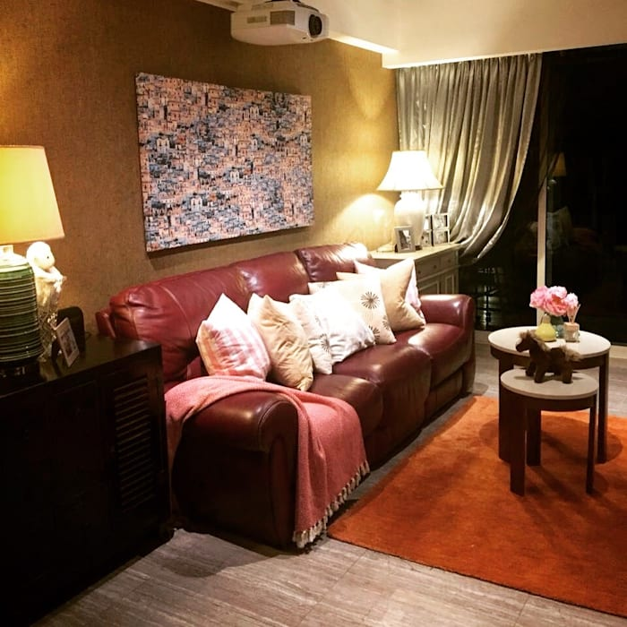 Project @ Holland Road Condo Modern living room by ab1 Abode Pte Ltd Modern